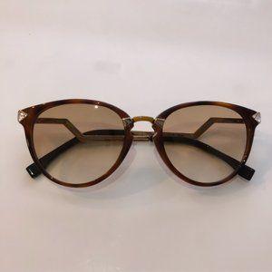 Fendi Havana Iridia FF 0039/S Tortoise Sunglasses